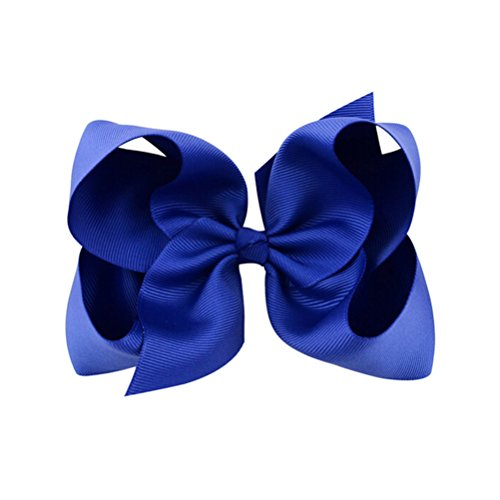 big hair bows alligator clips