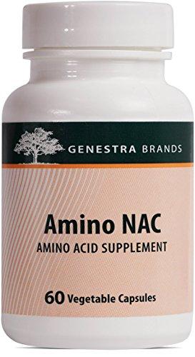 Genestra Brands - Amino NAC - Vegan N-Acetyl-L-Cysteine ...