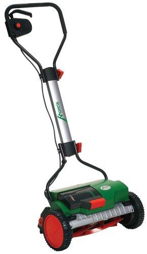 Mantis 811103 15-Inch 24 Volt Cordless Electric Reel Mower