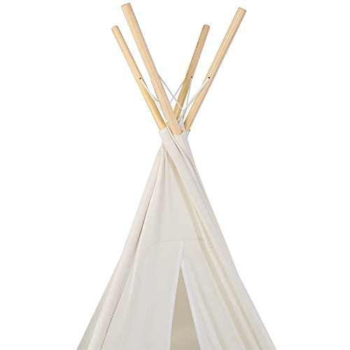 E Joy 6 Indoor Indian Playhouse Toy Teepee Play Tent For