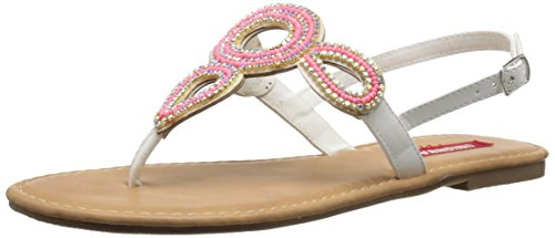 Union Bay Women's Allen Dress Sandal - Pink/White - 8 B(M...