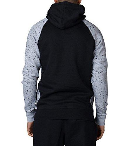 06a8f4a096b141 Nike Men s Air Jordan Retro 4 Speckle Pullover Sweatshirt Hoodie ...