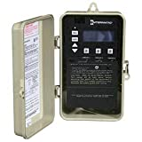 Intermatic Timer, 120/240V 3-Circuit Digital Timer in Rainproof Enclosure