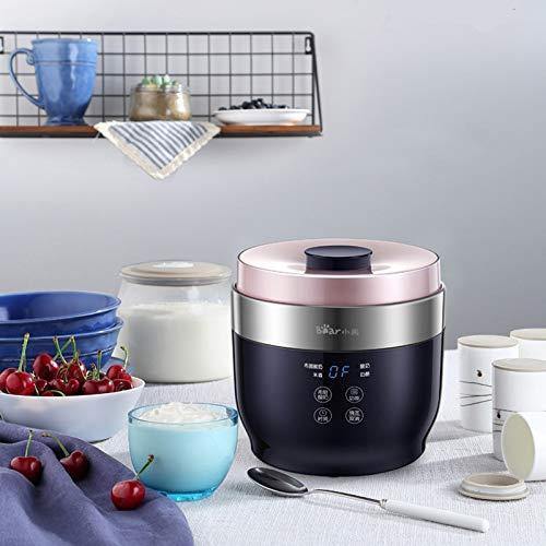 Intelligent Cheese Yogurt Maker, Household Automatic Rice Wine Machine Homemade Yogurt Machine Glass Liner + Cup