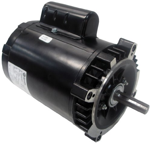 A.O. Smith OL1072D 3/4 HP, 3450 RPM, 115/208-230 Volts, 48CZ Frame, ODP Enclosure, Ball Bearing, Reversible Rotation Oil Burner ()