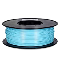 Inland 1.75mm Turquoise PLA 3D Printer Filament - 1kg Spool (2.2 lbs) by INLAND
