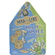 Cardinal Industries Mad Libs Mad Roll Game