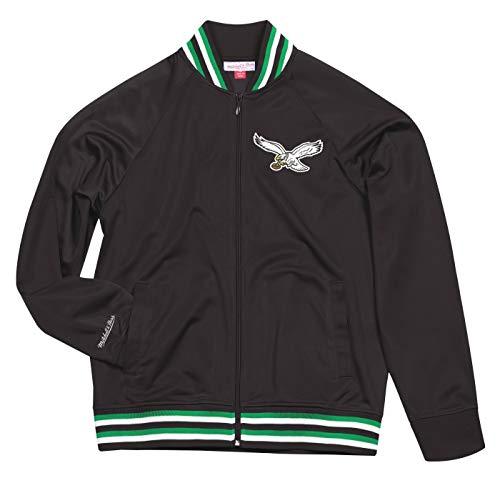 Mitchell & Ness Philadelphia Eagles NFL Men's Top Prospect Full Zip Track Jacket (Mitchell And Ness Jacket)