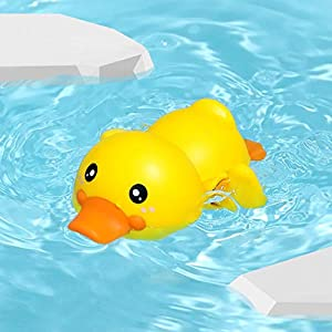 millenniums Sale!! 1PC Baby Bath Swimming Bath Pool Toy Cute Wind Up Animal Bath Toys Birthday Gifts Xmas Present…
