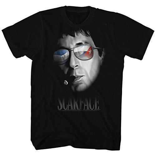 American Classics Scarface 1980s Gangster Crime Movie Every Dog Portrait Sunglasses Adult - Sunglasses American Gangster