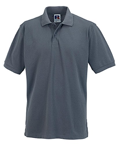 Russell Convoy Gris Piqué Grey Robuste Polo Workwear Pvd6TnxqzT