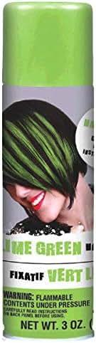 AMSCAN Green Hair Spray Party Supplies, 3 oz, 12
