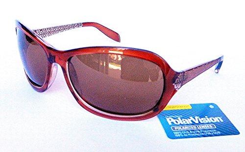 PolarVision Women's HI-DEF POLARIZED Sunglasses (1483) 100% UVA & UVB Protection-Shatter - Polar Sunglasses