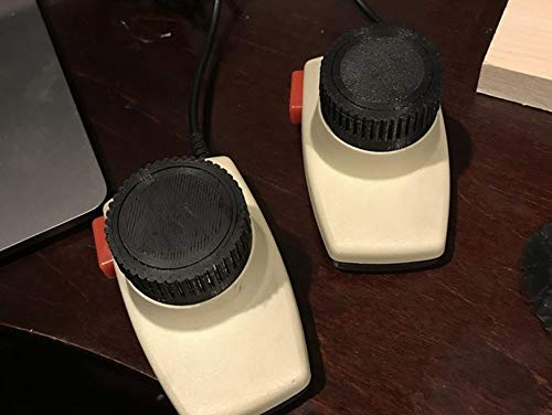 Atari 2600 Paddle Wheel Replacement Part Authentic Retro Vintage Inspired Feel