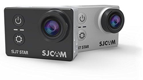 "SJCAM SJ7 STAR 4K 12MP 2"" Touch Screen Metal Body Gyro Action Camera BLACK Action Cameras SJCAM"