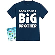 TeeStars - Best Sibling Gift Idea - Soon To Be A Big Brother Kids T-Shirt