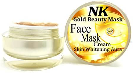 NK Gold Beauty Mask Cream Original Gold Mask High Quality for Skin Face Whitening Aura 40g