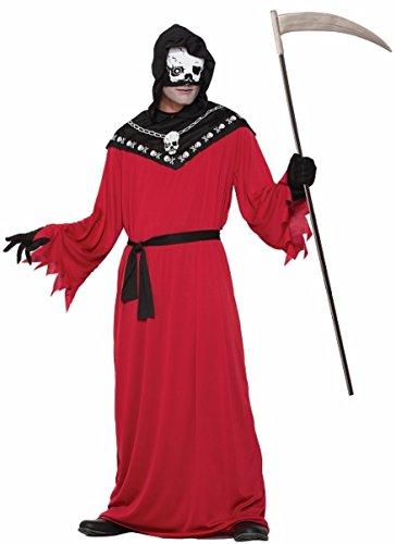 Forum Men's Demon Reaper Costume, Multi/Color, One