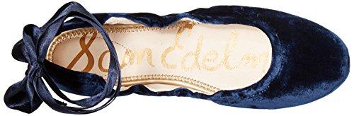 Sam Edelman Mujer Fallon Ballet Flat Azul (Inky Navy Velvet)
