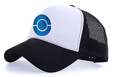 Animado Sombrero para blanco T2 Hombre de myglory77mall negro avwFqRxw