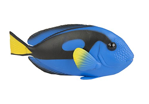 Safari Ltd. Blue Tang - Realistic Hand Painted Toy Figurine Model - Quality Construction from Phthalate, Lead and BPA Free Materials - for Ages 3 and Up