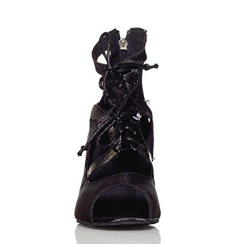 Miyoopark - salón mujer Blakc-7.5cm heel