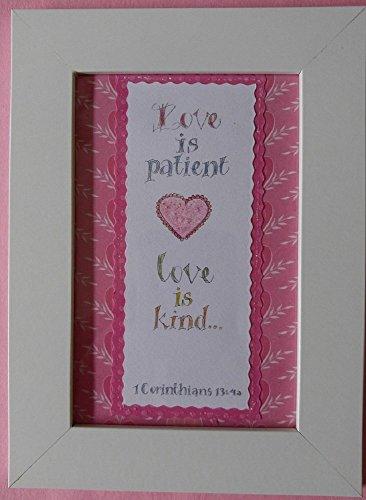Love is patient - love is kind… - 1 Corinthians 13:4a - 1198P