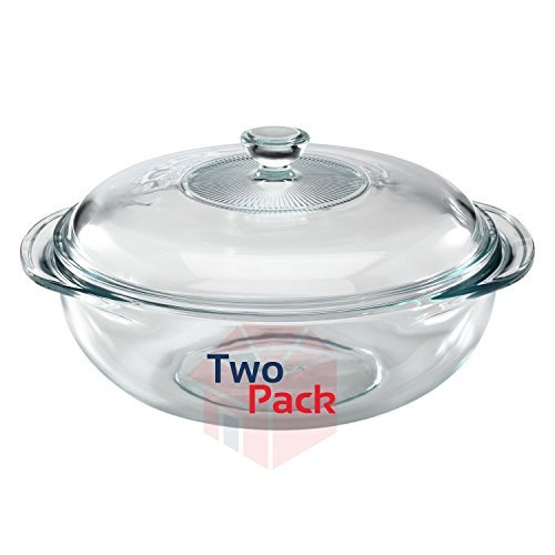 Pyrex 2-Quart Glass Bakeware