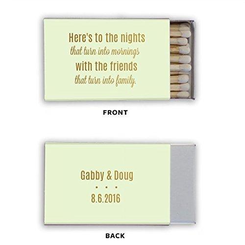 Matchboxes, Wedding Matches, Birthday Matches, Monogrammed, Cigar Station, Custom printed Favor 22