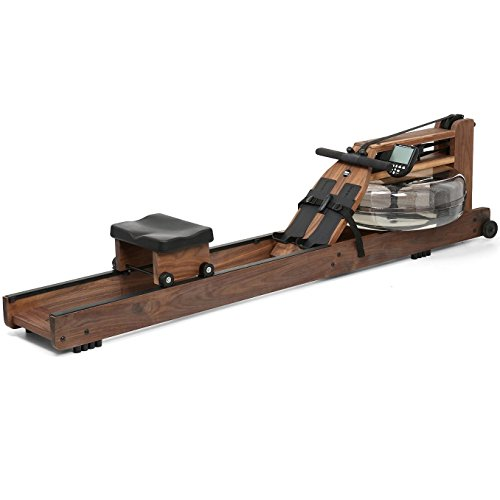 Rowing machine at home. WaterRower Classic Rowing Machine S4 with Hi-Rise Attachment