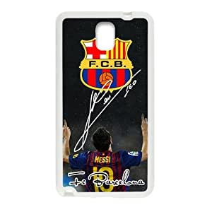 F.C.B Messi Cell Phone Case for Samsung Galaxy Note3