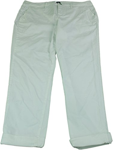 Bandolino Jeans Ladies Size 8 Felicia Style Roll Cuff Casual Jeans White (Bandolino Womens Roll)