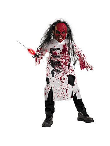 Demented Doctor Child Costume - Medium (Child Demented Doctor Costume)