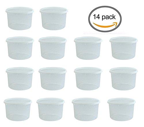 half gallon freezer containers - 2