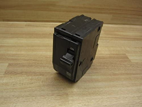 Thermal Magnetic Circuit Breaker, Miniature, QO Series, 240 VAC, 48 VDC, 20 A, 2 Pole, Plug On