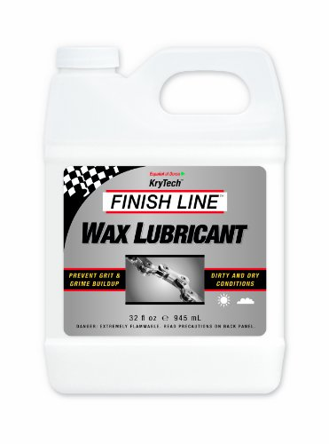 International Wax - Finish Line WAX Bicycle Chain Lube, 32-Ounce Quart Jug