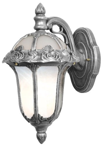 Lites Top Mount (Special Lite Products Rose Garden F-1711-SW/AB Small Top Mount Light, Swedish Silver)