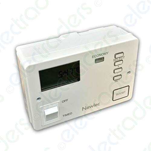 Newlec NLECO7DIG Economy 7 Water Heater Timeswitch Controller with Boost Control (Digital)
