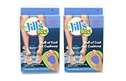Dr. Jills Gel Ball of Foot Cushions 1/4\