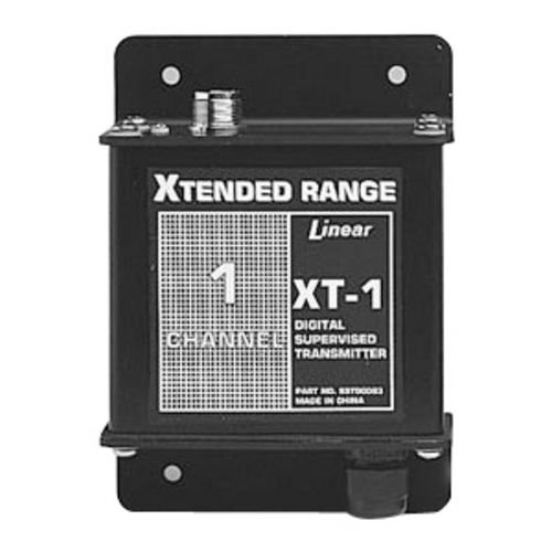 Price comparison product image Linear XT-1 1-Channel Stationary Mid-Range Transmitter, Black