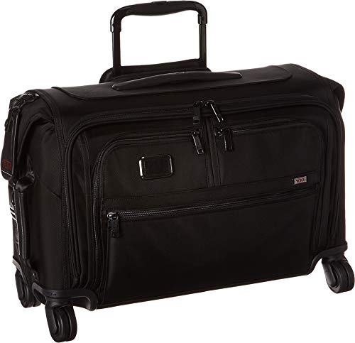 TUMI - Alpha 3 Garment Bag 4 Wheeled Carry-On - 22 Inch Dress or Suit Bag for Men and Women - Black