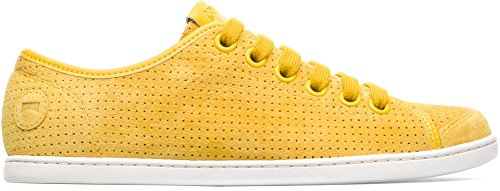 Camper Uno 21815-048 Flat Shoes Women Yellow