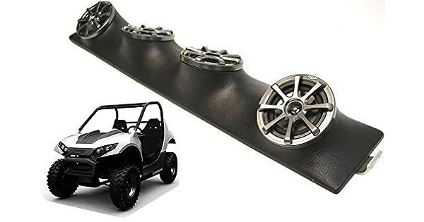4 Custom Quad 5 1//4-Inch Speakers Power Sports Utv Pod Waves /& Wheels UTVA-R