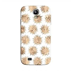 Cover It Up - Sand Star White Galaxy S4 Hard Case