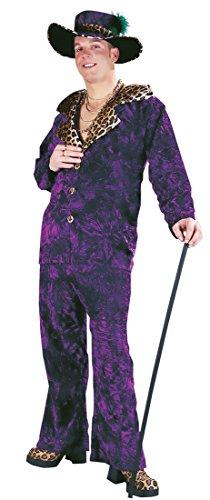 [Big Daddy Pimp Costume - Adult Std.] (Big Daddy Pimp Costumes)
