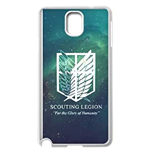 Attack On Titan Samsung Galaxy Note 3 Cell Phone Case White 8You209981