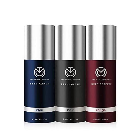 The Man Company Diwali Body Perfume Trio Set - (Noir Body Perfume, Bleu Body Perfume, Rouge Body Perfume) | Made in