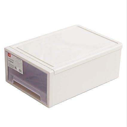 SHUAIGUO Caja De Almacenamiento De Plástico/Cajonera / Caja ...