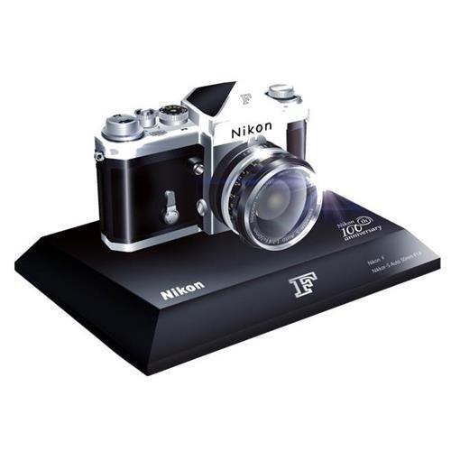Anniversary Cameras (Nikon 100th Anniversary Miniature Nikon F Camera)