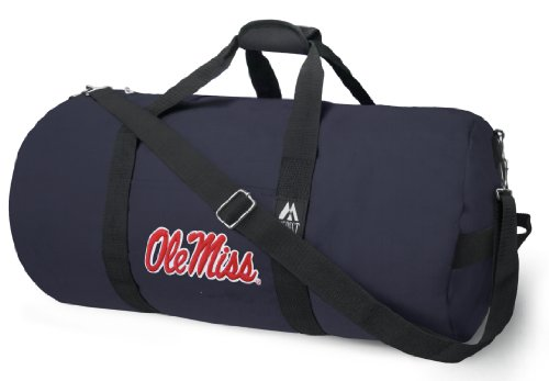 Broad Bay OFFICIAL Ole Miss Duffle Bag or University of Mississippi Gym Bags Suitcases by Broad Bay